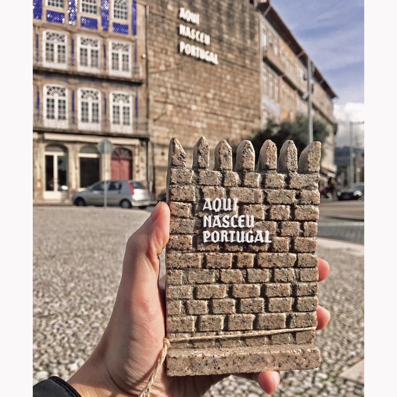 Muralha Aqui Nasceu Portugal